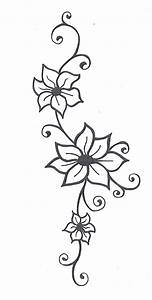 Flowers Vine For Drawing - ClipArt Best