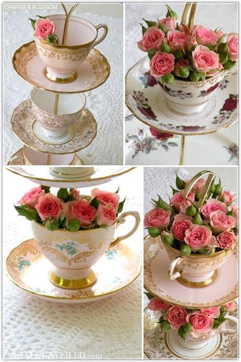 in tea decorations frugal bon vivant afternoon tea inspirations