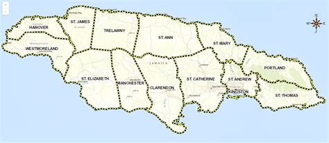 interactive maps electoral commission  jamaica
