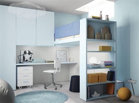lit surélevé avec bureau intégré 10 solutions pour aménager le dessous d un lit mezzanine