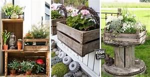 decorer le jardin avec des cagettes en bois voici 20 idees With wonderful idee amenagement terrasse exterieure 3 comment amenager une cuisine dete dans son jardin