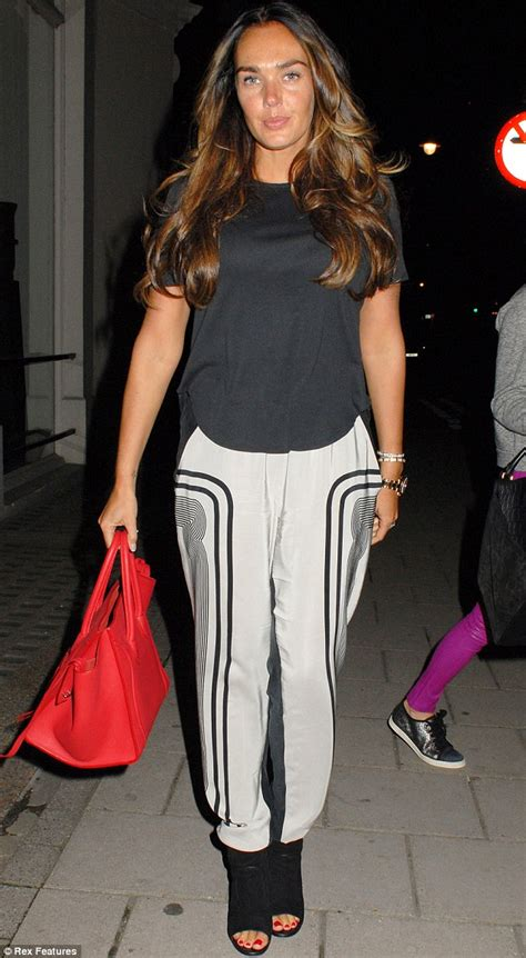 Tamara Ecclestone steps out barefaced on a rare break from ...
