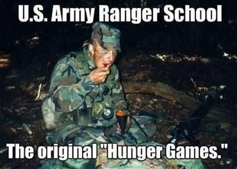 Ranger School Meme - us army rangers hunger games lol militaryhumor rangers pinterest game babies and lost