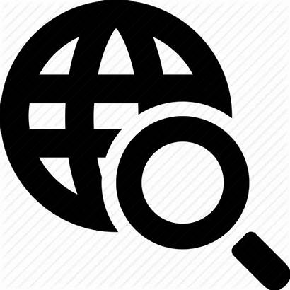 Web Address Lookup Icon Location Locate Icons