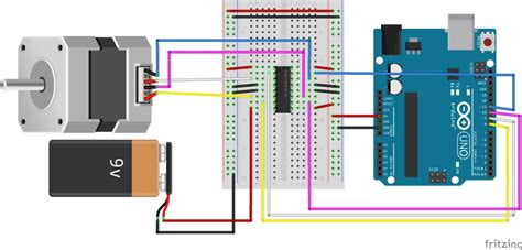 Controlling Stepper Motor With Arduino Steps