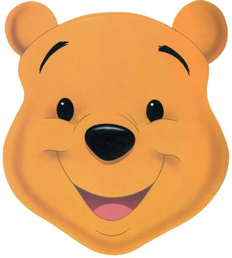 Winnie The Pooh Cake Template by Downloadable Printable Pooh Mask