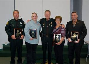 Sheriff's Office Recognizes Top Employees of the Quarte