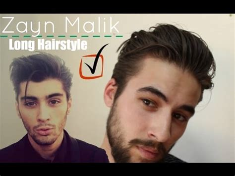 zayn malik long hairstyle  mens hair