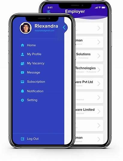 Sidebar App Behance Ui Menu Mobile Ux