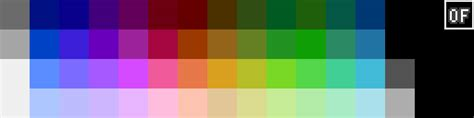 nes color palette atelier b 233 toux