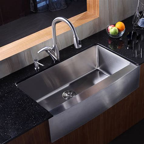 Stainless Kitchen Sinks by Undermount Stainless Steel Kitchen Sink With Drainboard
