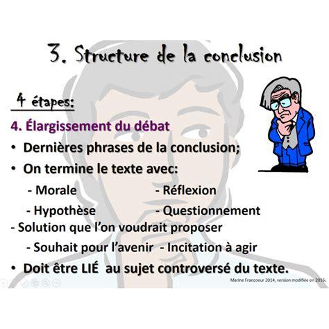 Conclusion Résumé De Texte by Comment 233 Crire Un Texte Argumentatif