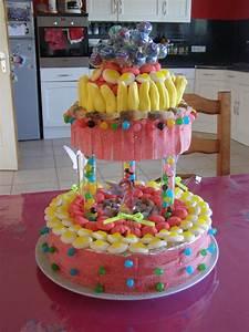 Deco Bonbon Anniversaire : idee deco gateau bonbon ~ Melissatoandfro.com Idées de Décoration