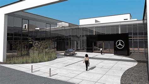 Rund 250 mitarbeiter werden den künftigen standort beziehen, der baubeginn ist vorbehaltlich aller. So sieht die Mercedes-Zentrale in Eugendorf aus   krone.at