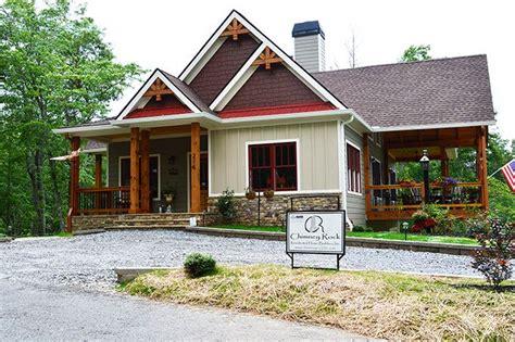 lake wedowee creek retreat house plan porch house plans craftsman lake house small lake houses