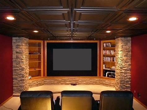 straford ceiling tiles home theater san francisco