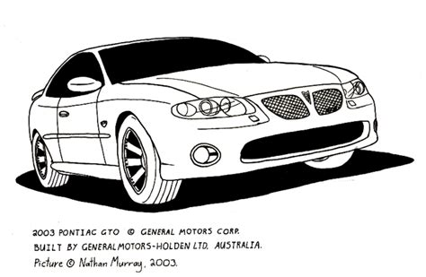 1968 Pontiac Gto Coloring Pages Coloring Pages