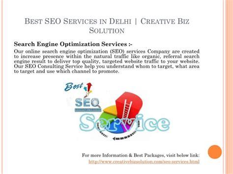 PPT - SEO Company in Delhi - Creative Biz Solution ...
