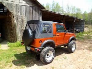 Buy Used Suzuki Samurai  16 Valve Motor  4x4  5 Speed