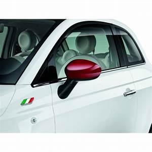 Coques De R U00e9troviseurs Ext U00e9rieurs Fiat 500 Coloris Rouge