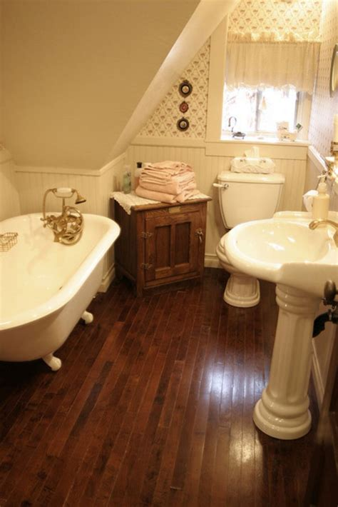 50+ Farmhouse Bathroom Ideas For Small Space Homecantuk