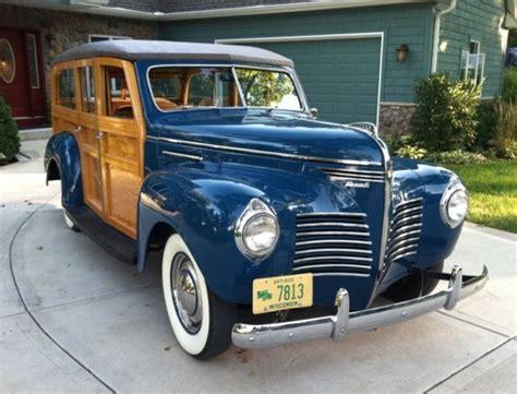 1940 Plymouth Woody Wagon