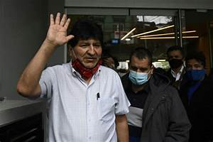 Evo Morales Leaves Argentina For Venezuela  Report
