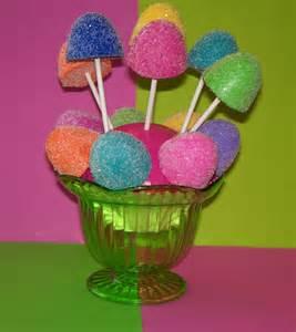 6 candyland gumdrop cake pops by fakecupcakecreations on etsy