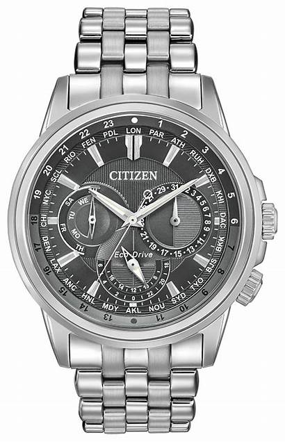 Calendrier Citizen Eco Drive 51h Steel Stainless