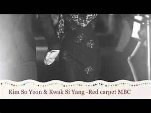 [Fanmade Red Carpet 1] Kim So Yeon & Kwak Si Yang - 곽시양 ...