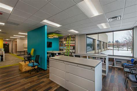 bureau interiors showroom in novi resource office interiors