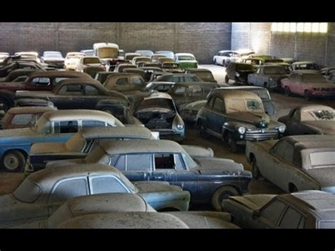 Antique Cars Found In Barn by Barn Find In Portugal