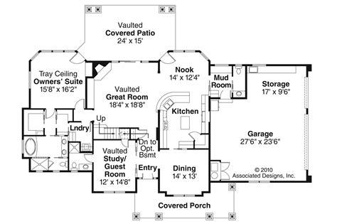 craftsman house floor plans craftsman house plans tillamook 30 519 associated designs