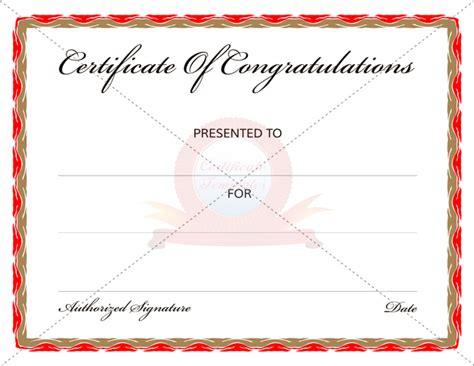 congratulations certificate templates congratulation certificates certificate templates