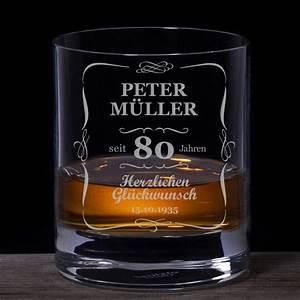 Geburtstag Berechnen : whiskyglas 80 geburtstag klassisch mit individueller namensgravur ~ Themetempest.com Abrechnung
