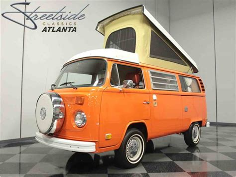 volkswagen bus 1975 volkswagen bus westfalia cer for sale