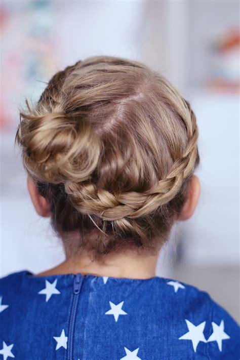 toddler crown braid cute girls hairstyles