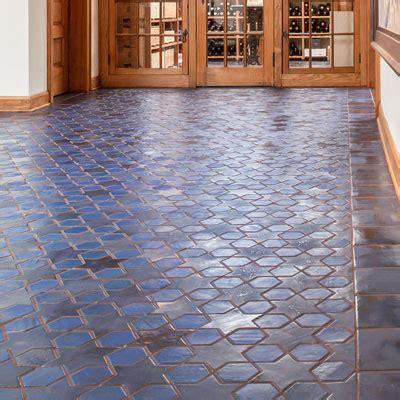 floor tile gallery mosaic hexagon mid century hallways