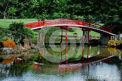 Japanischer Garten Münzesheim by Singapore Japanese Garden Bridge Royalty Free Stock