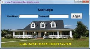 Real Estate Management System - Free Student Projects