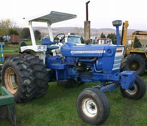 Ford 7000 Tractor 3 Pt  3 Remotes  Rops Roof