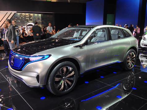 mercedes benz eq concept previews   electric models