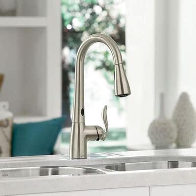 Kitchen Water Faucets by Kitchen Faucets Quality Brands Best Value The Home Depot