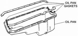 Oil Pan And Gaskets - Diagram View