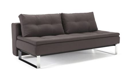 innovation futon supremax dual sofa bed size soft gray by innovation