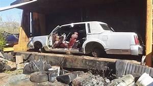 Car Crusher Crushing Cars 52 Crushing Another  U0026 39 Vette