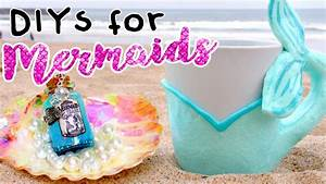 MERMAID DIYS You NEED To Try! ROOM DECOR For MERMAIDS