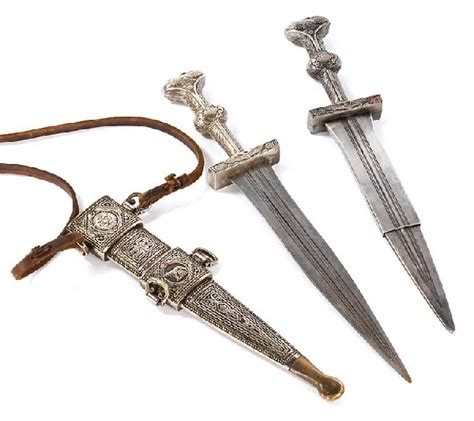 the lost dagger ancient dagger used by the in black richard and sayid