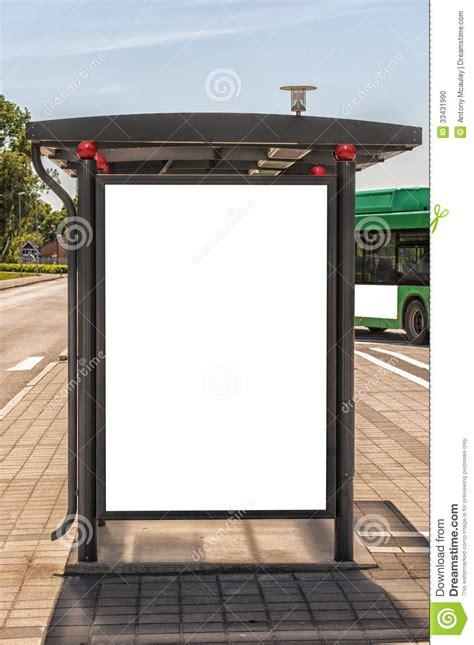 bus stop sweden stock photo image