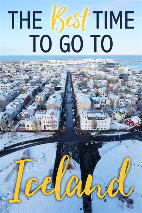 The Best Time To Go To Iceland  The Blonde Abroad